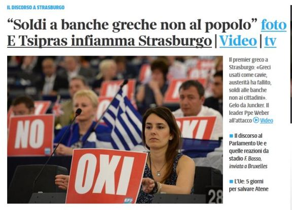 Cattura corriere disinf greece banks