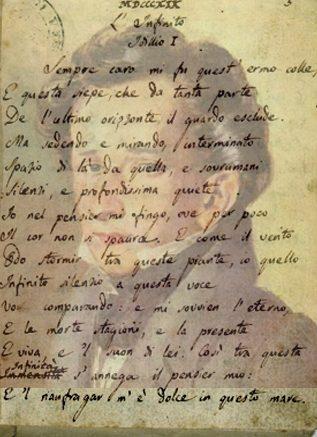 """""""E IL NAUFRAGAR M'E' DOLCE IN QUESTO MARE"""". SPECIALE DI CRITICA LETTERARIA: COMMENTO A """"L'INFINITO"""" DI G. LEOPARDI (di Giuseppe PALMA)"""