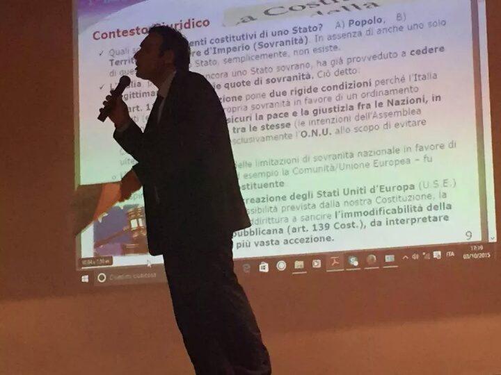 LA BASE GIURIDICA ESSENZIALE PER COMPRENDERE L'INCOMPATIBILITA' TRA LA NOSTRA COSTITUZIONE E I TRATTATI DELL'UE, CON LA DIRETTA CONSEGUENZA CHE GLI STATI UNITI D'EUROPA SAREBBERO IN FORTE CONTRASTO CON IL DETTATO COSTITUZIONALE (di Giuseppe PALMA)