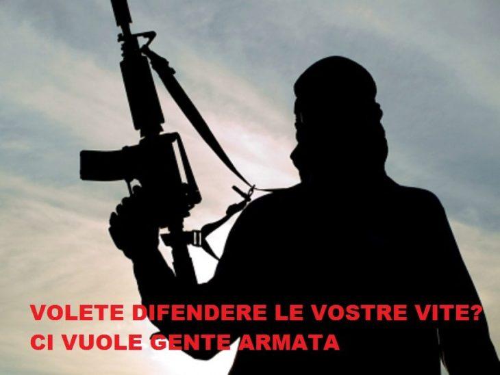 AUX ARMES CITOYENS. Sicurezza, disarmo ed immigrazione non sono compatibili, nonostante tutti i miti della sinistra stupida.