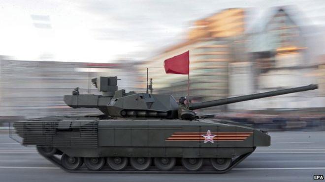 russia tank armata