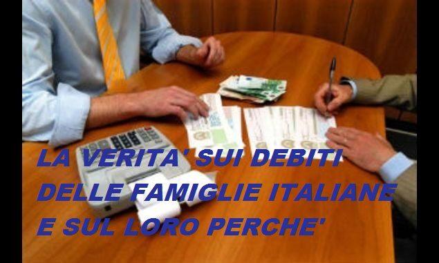 debiti famiglie immagine MOD