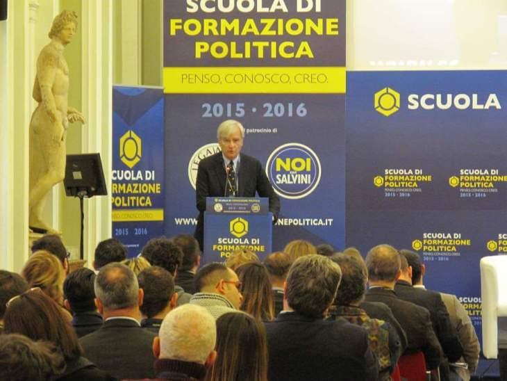 DEBITO E MONETA, intervento di Antonio Maria Rinaldi alla Scuola di Formazione Politica della Lega.