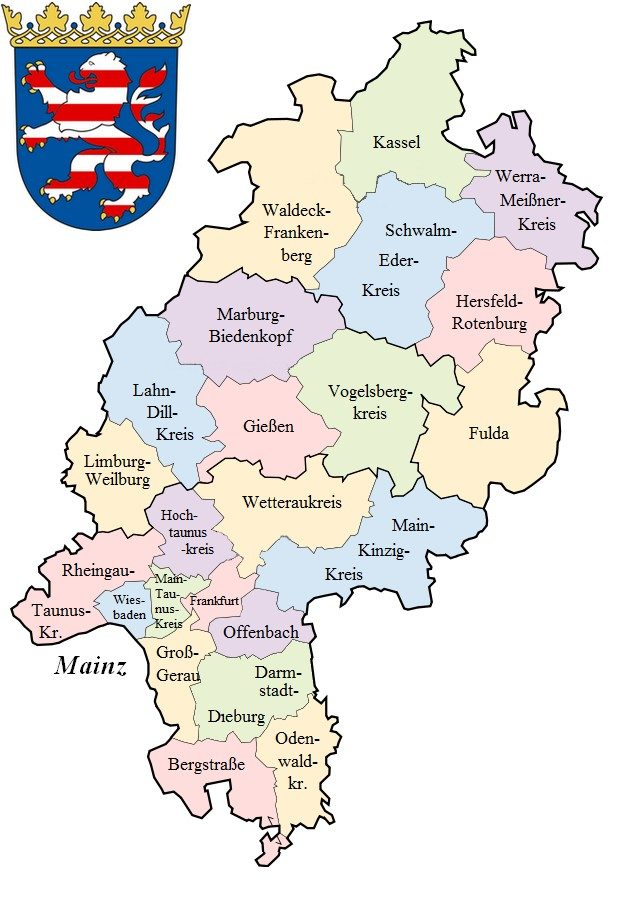 Hessenkarte
