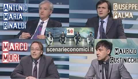 """I 4 CAPITANI SENZA PADRONE"" (Antonio Maria RINALDI, Marco MORI, Maurizio GUSTINICCHI e Giuseppe PALMA)"