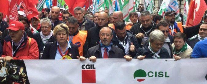"""L'ignoranza criminale dei sindacati, ovvero degli """"spingitori di lavoratori"""""""