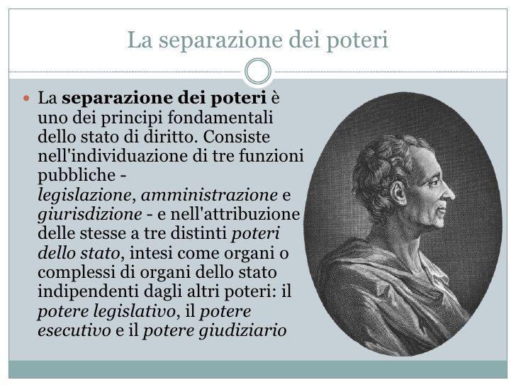 SPIEGHIAMO A RENZI LA DIVISIONE DEI POTERI  (di C.A. Maugeri)