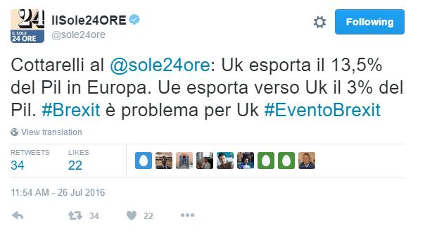 CARLO COTTARELLI, OVVERO IL RE DELLE PERCENTUALI !