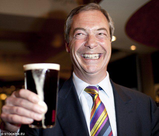 FARAGE DA' LE DIMISSIONI DA LEADER DELLO UKIP