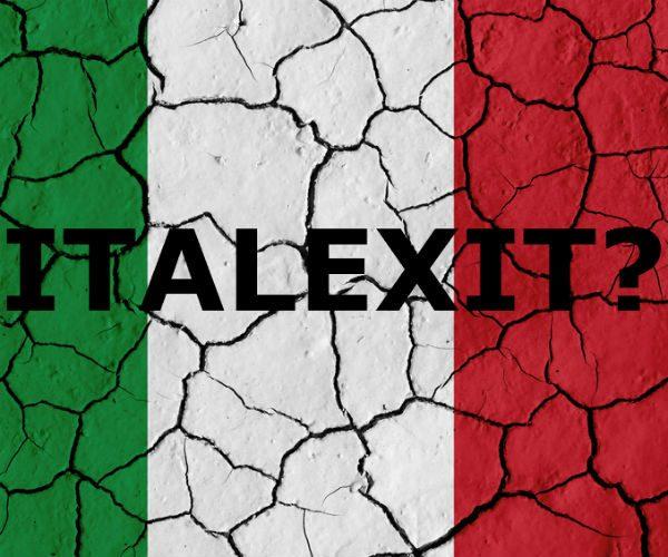 COME ITALEXIT VIENE VISTO DALL'ESTERO. VALUTAZIONI DI CREDIT SUISSE (SOLO 1% DI PROBABILITA'), PUNTI DI VISTA INTERESSANTI E POSSIBILI ERRORI.