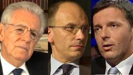 E' ORA DI PRESENTARE IL CONTO A MONTI/LETTA/RENZI (E DRAGHI)