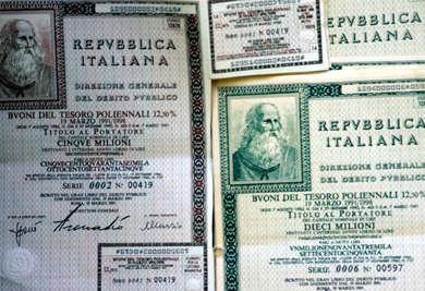 BTP Buoni del tesoro poliennali - economia ©giuseppe giglia