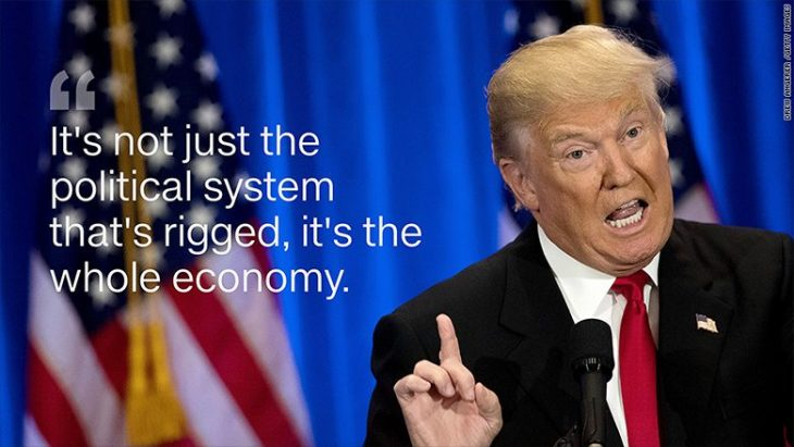 Le sfide di Donald J. Trump in economia. L'Italia deve supportare il progetto seguendo l' esempio USA