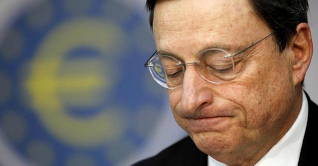 LE CONTRADDIZIONI DI DRAGHI SUL TARGET 2 ED I SUOI TIMORI PER LA PROSSIMA (??) ESPLOSIONE DELL'EURO.