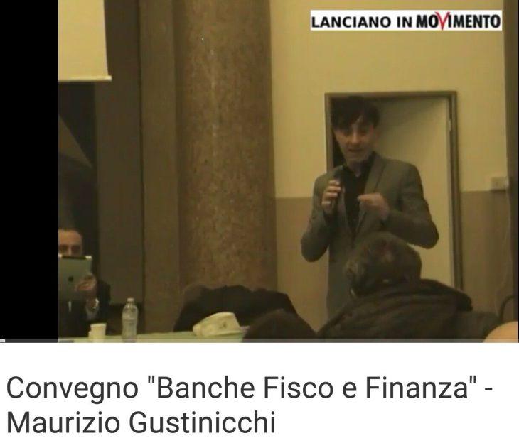 VIDEO GUSTINICCHI MAURIZIO CONVEGNO M5S BANCHE, FISCO E FINANZA