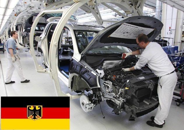 FLASH: Germania, forte calo della produzione industriale a dicembre 2016, ma ordinativi su