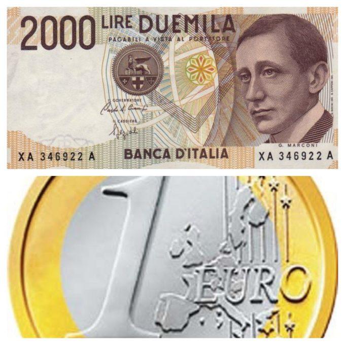 PER QUELLI CHE L'EURO NON FUNZIONA PERCHE' SBAGLIARONO IL CONCAMBIO A 1936,27! Di A.M. Rinaldi