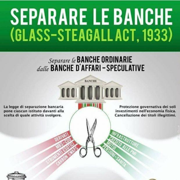 PETIZIONE INTERNAZIONALE PER IL RIPRISTINO DELLA LEGGE GLASS-STEAGALL