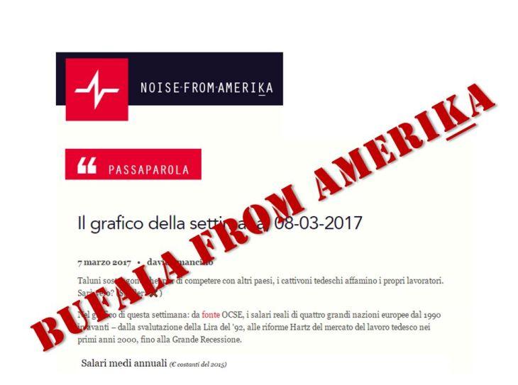 Il reddito medio del Kaiser: Bufala from Amerika