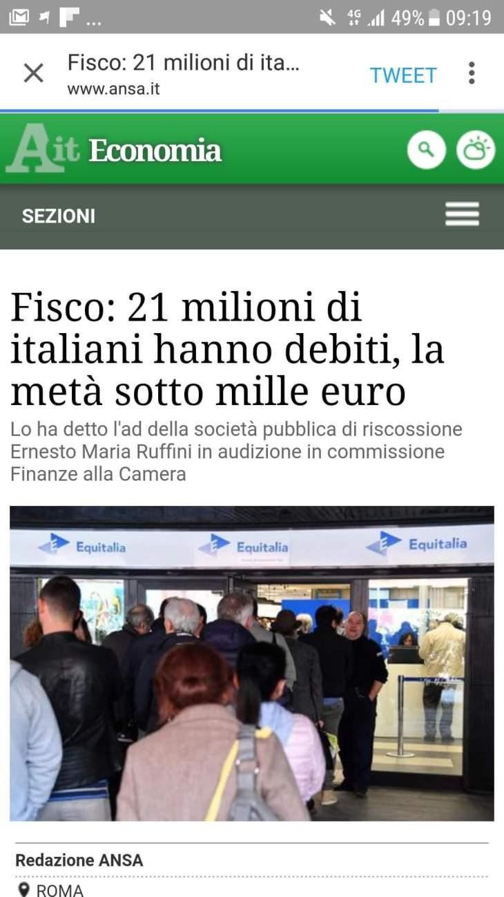EURO (LIRA FORTE) E PAREGGIO DI BILANCIO SBATTONO L'ITALIANO SOTTO I PONTI