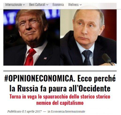 Perchè l'Occidente vuole la guerra con la Russia: forse ha bisogno di un nemico per nascondere i disastri socio-economici dei propri governanti…