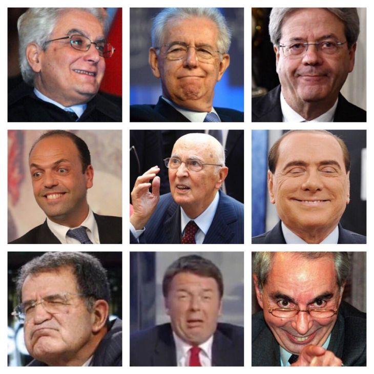 SONDAGGIO: CHI E' IL COLPEVOLE DELLA CRISI ITALIANA?