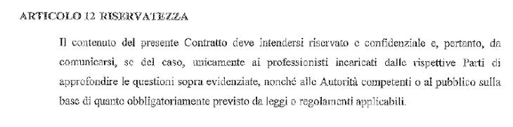 IL CONTRATTO DI CESSIONE DELLE POPOLARI VENETE A BANCA INTESA SECONDA PUNTATA: