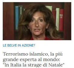 In caso di attacco terroristico islamico in Italia, i politici del PD che hanno avallato l'immigrazione saranno a rischio violenza da parte dalla popolazione inferocita?