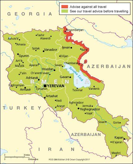 """Caucaso: la rivoluzione """"Gialla"""" diventa filorussa, per forza di cose"""