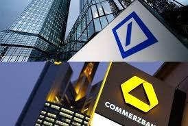 Il governo tedesco sta attivamente spingendo per una fusione fra DB e Commerzbank. Si spera di fondere due cattive banche e farne una buona
