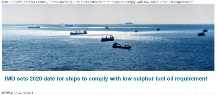 La  guerra al Diesel NON ha nulla a vedere con l'inquinamento: dal 2020 le grandi navi useranno lo stesso gasolio delle auto e quindi non ce n'è abbastanza per tutti!