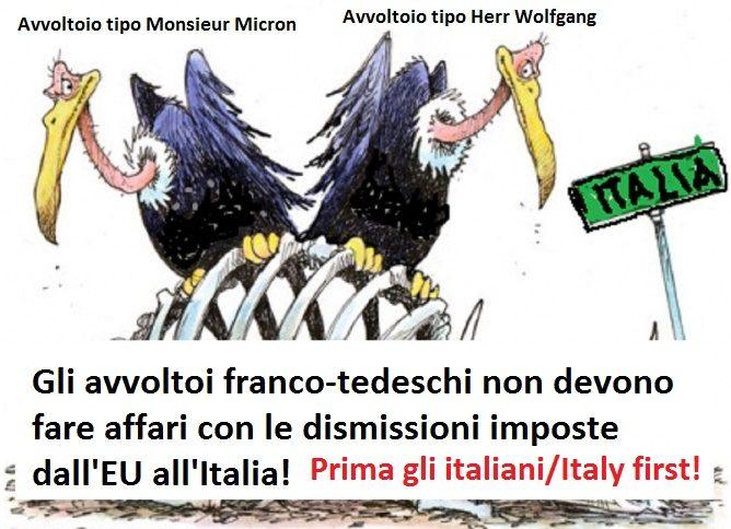 Il governo dia la prelazione ai privati cittadini italiani per l'acquisto del patrimonio immobiliare dismesso per volere EU!