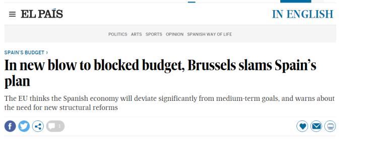 Secondo me a Bruxelles sono male informati