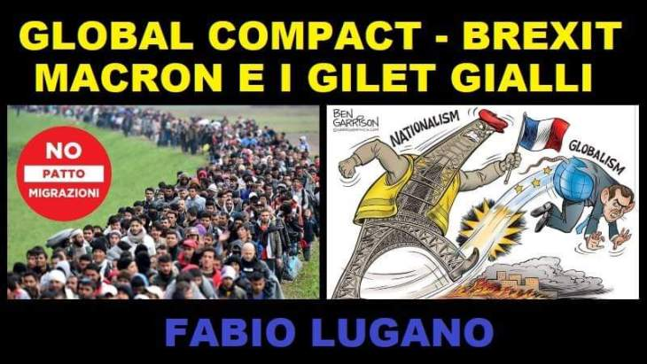 Global Compact, Brexit e Macron. Intervista di Fabio Lugano a Italia News