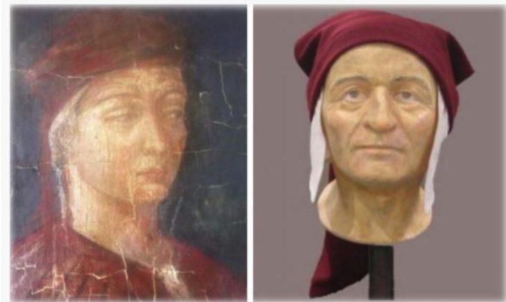Qual'era il vero volto di Dante (di Gilberto De Benedetto)