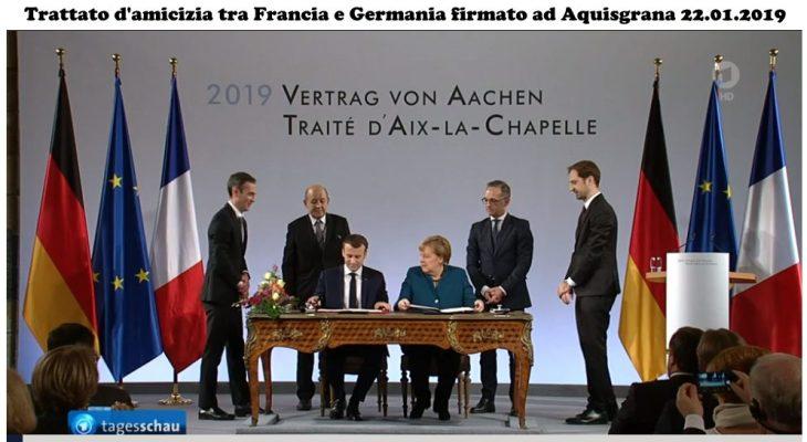 Il trattato d'amicizia tra Francia e Germania – Ciò che la Germania ha perso in guerra, lo vince con la pace! (Tanja Rancani)