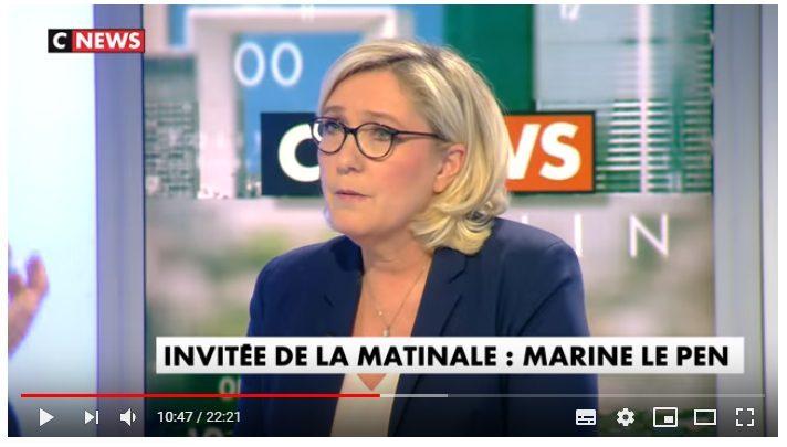 La verità su Marine Le Pen e l'euro. La sua intervista shock