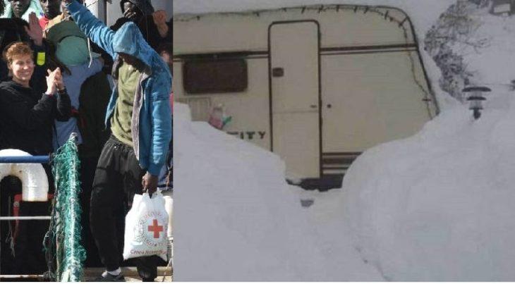 Due immagini, due notizie, che spiegano la crisi dell'Italia