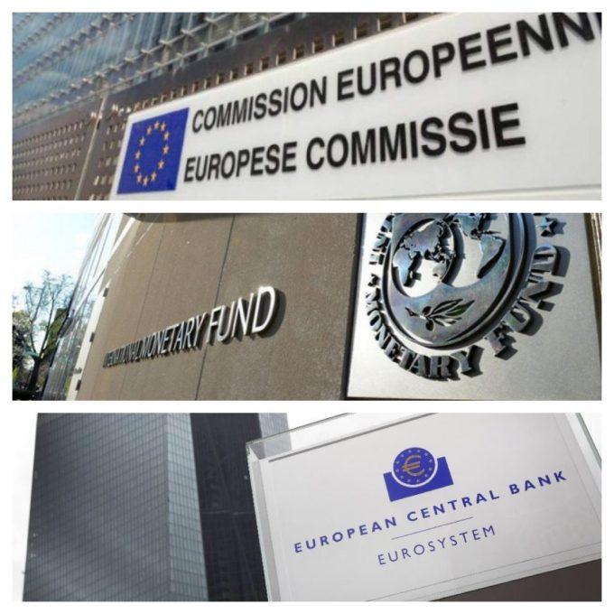 BCE, COMMISSIONE EU E FMI: BISOGNA TOGLIERE LORO OGNI POTERE di Luigi Luccarini.