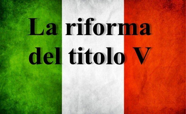 LA RIFORMA DEL TITOLO V DEL 2001 – UN'IPOTESI SUL DECLINO DELL'ITALIA (di Bruno Detti)