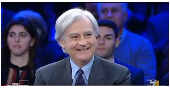 """Rinaldi a """"Non è l'Arena"""": sgravi ai pensioni, reddito di cittadinanza e finti invalidi"""