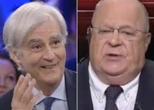 """Rinaldi VS Cazzola """"Il Francese"""" a cui scappa  un C… da economista"""