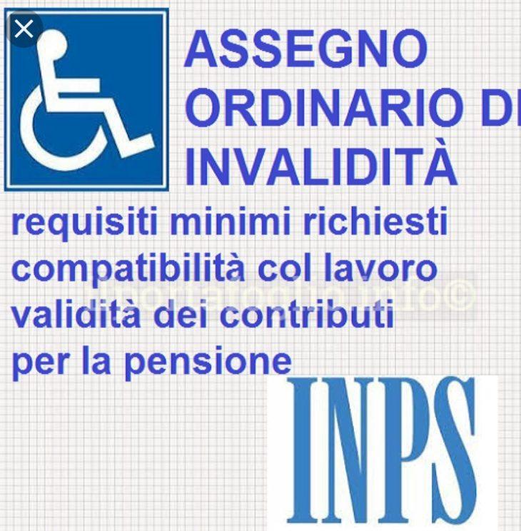 ANGELI DELLA FINANZA: Assegno di invalidità si, ma secondo la tua età!