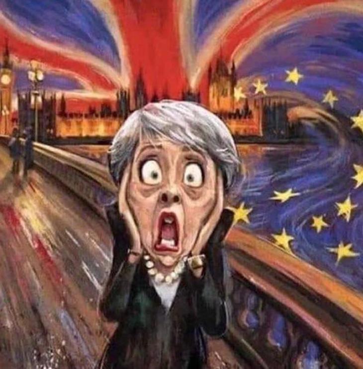 Brexit: La May farà di tutto per uscire prima del 22 maggio, per evitare Farage