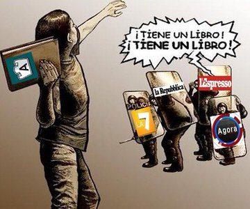 #SaloneDelLibro La censura nei confronti di libri ed editori nell'Era del neofascismo degli antifascisti (di P. Becchi e G. Palma)