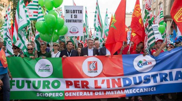 I sindacati, l'Europa, il lavoro e il diritto di sciopero