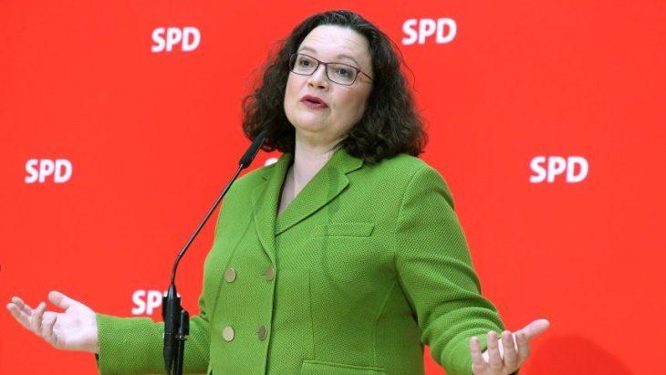 CADE IL VERTICE DELLA SPD TEDESCA. QUANTO DURERA' LA MERKEL
