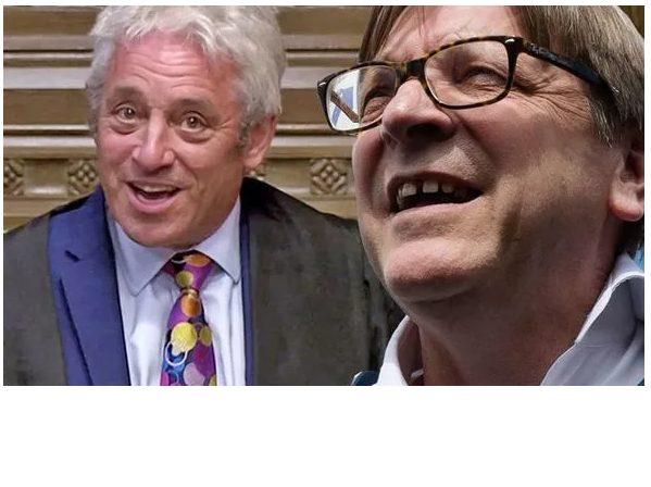 Lascia lo speaker del Parlamento britannico…. e viene invitato a Bruxelles !!!!