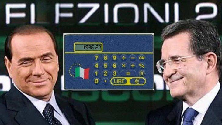 Prodi ha sbagliato il cambio, Berlusconi non ha vigilato sui prezzi: i falsi problemi sull'euro (di Paride Lupo)