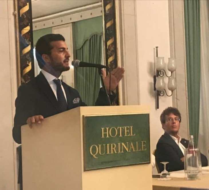 Amodeo entra nel Direttivo nazionale di Vox Italia e assume il controllo del partito in Campania. Intervista esclusiva.